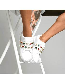 Celestial Jewelled Chunky Trainers by Koi Footwear