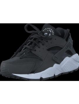 Wmns Air Huarache Run Black/Black White by Nike