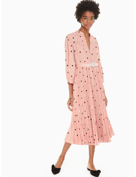 Bakery Dot Midi Dress by Kate Spade