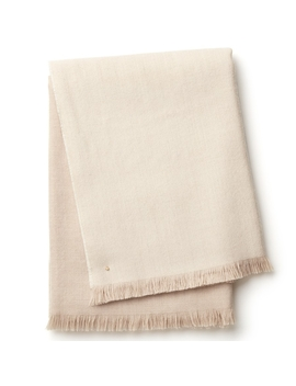 Alpaca Color Block Throw by Cuyana