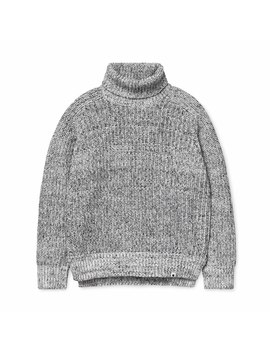 Wmns Keego Sweater White / Black by Carhartt Wip