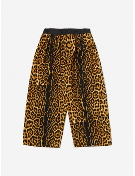 Animal Print Flannel Trouser   Leopard by Sasquatchfabrix.