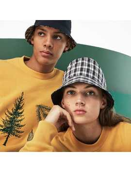 Unisex Fashion Show Reversible Technical Poplin And Canvas Bob by Lacoste