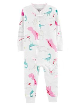 1 Piece Certified Organic Cotton Snug Fit Footless P Js by Carter's