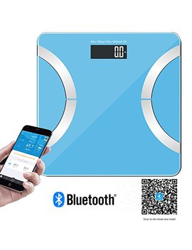 Dr. Health 400 Lbs Wireless Bluetooth Bathroom Scale With Ios, Android App For Body Weight, Fat, Water, Muscle Mass, Bmi, Bmr… by Best Buy