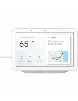 """Google Home Hub With Google Assisntant, Touch And Voice Control, 7"""" Touch Screen, Watch Youtube Videos, Pandora, Spotify, I Heart Radio by Google"""