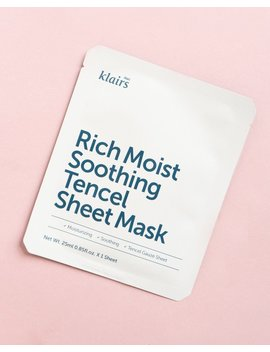 Rich Moist Soothing Tencel Sheet Mask by Klairs