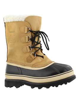 Men's Caribou Buff Nubuck Tan Winter Boots by Sorel