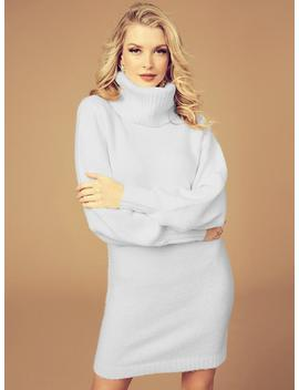 Cutout Turtleneck Lash Sweater by Guess