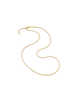 Long Gold Rope Chain by Missoma