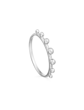Silver Lucy Williams Tiny Orb Ring by Missoma