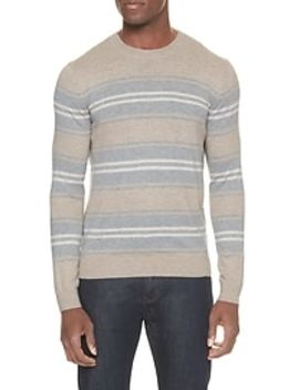 Striped Crew Neck Sweater by Banana Republic Factory