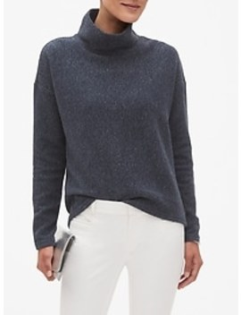 Textured Funnel Neck Sweatshirt by Banana Republic Factory
