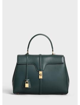 Medium 16 Bag In Satinated Calfskin by Celine