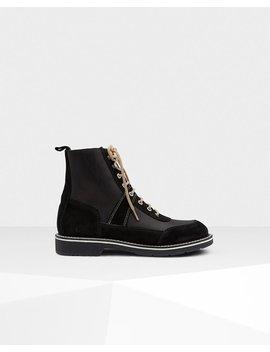 "<Span Itemprop=""Name"">Men's Original Leather Commando Boots</Span>:                     <Span>Black</Span> by Hunter"