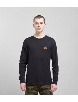 Stussy Fireball Long Sleeved T Shirt by Stussy