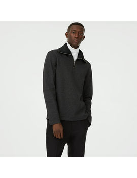 Ribbed Quarter Zip by Club Monaco