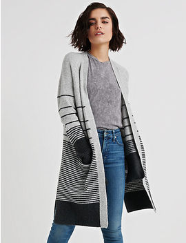 Stripe Duster by Lucky Brand