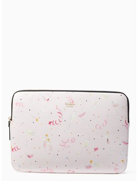 Champagne Print Universal Laptop Sleeve by Kate Spade