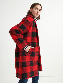 Buffalo Check Coat by Lucky Brand