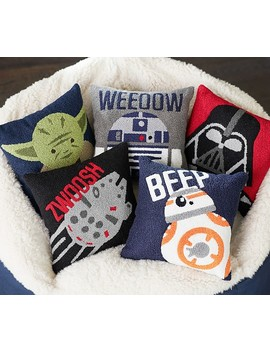 Star Wars™ Boucle Decorative Pillows by Pottery Barn Kids