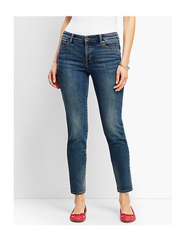 Slim Ankle Jeans   Baxter Wash by Talbots