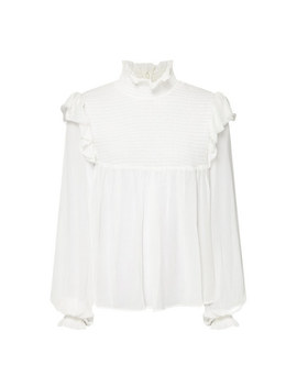 Frilled Smock Top by The Kooples