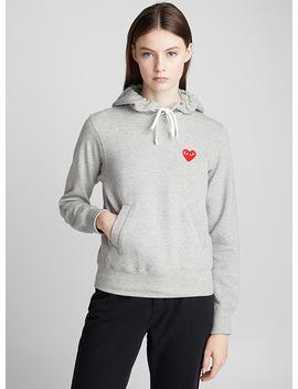 Heart Sweatshirt by Comme Des Garçons Play