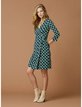 New Julian Two Silk Jersey Dress by Dvf