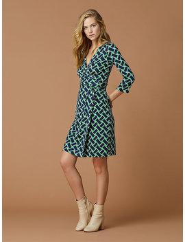 New Julian Two Silk Jersey Dress by Dvf