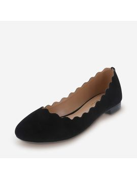 Women's Primrose Scalloped Flat by Learn About The Brand Martha Everyday