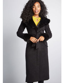 Quite The Sophisticate Coat by Collectif