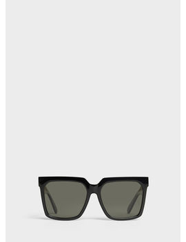 Oversized Sunglasses In Acetate With Polarized Lenses by Celine