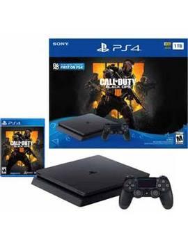Playstation 4 1 Tb Slim Cod Black Ops 4 Bundle by Sony
