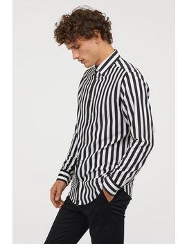Gestreiftes Hemd by H&M