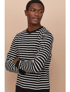 Gestreiftes Sweatshirt by H&M