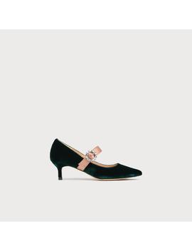 Eira Green Velvet Heels by L.K.Bennett