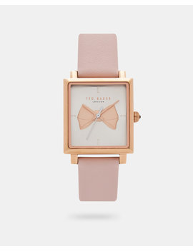 Bow Square Watch by Ted Baker