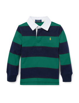 Striped Cotton Jersey Rugby by Ralph Lauren