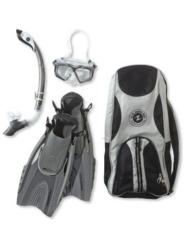 Adults' Us Divers Snorkeling Set by L.L.Bean