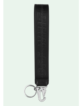 Leather Keychain by Off White