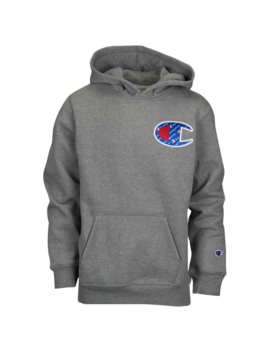 Champion Sublimated C Heritage Hoodie by Grade School