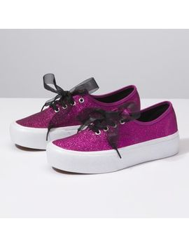 Glitter Authentic Platform 2.0 by Vans