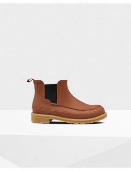 "<Span Itemprop=""Name"">Men's Original Moc Toe Chelsea Boots</Span>:                     <Span>Pine Cone</Span> by Hunter"