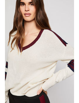 Striped Pullover Sweater by Bcbgeneration
