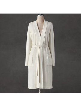 Cashmere Spa Robe by Restoration Hardware