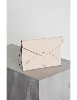 Kassandra Leather Clutch by Bcbgmaxazria