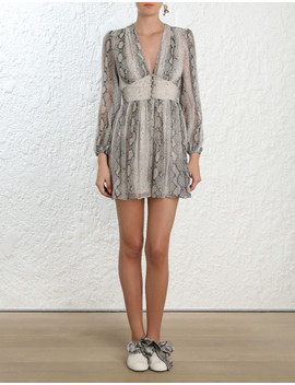 Corsage Fluted Playsuit by Zimmermann