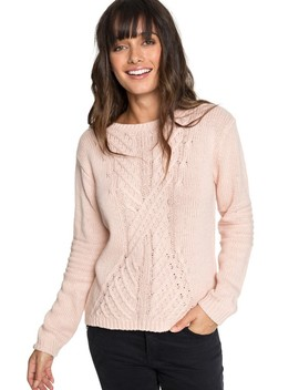 Glimpse Of Romance Sweater by Roxy
