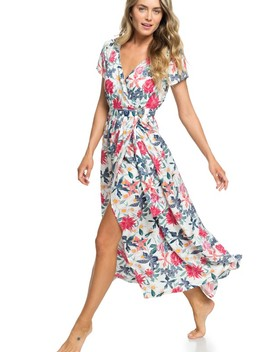 District Nights Ankle Length Dress by Roxy